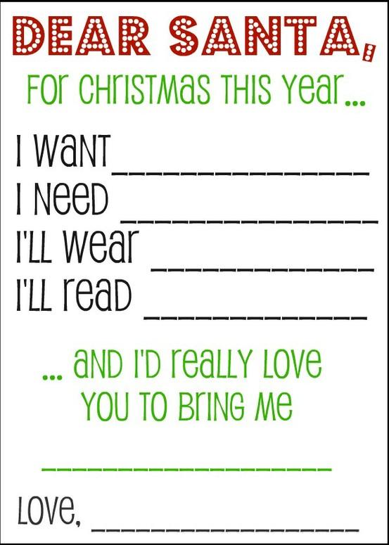 Dear Santa Im Not A Greedypants