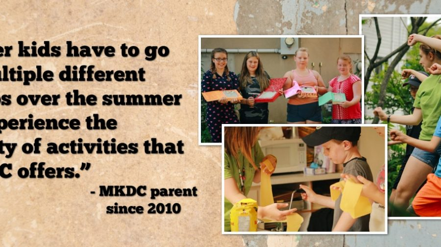 MKDC's Summer Camp Program
